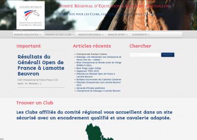 Comité Régionale d'Équitation Languedoc Roussillon